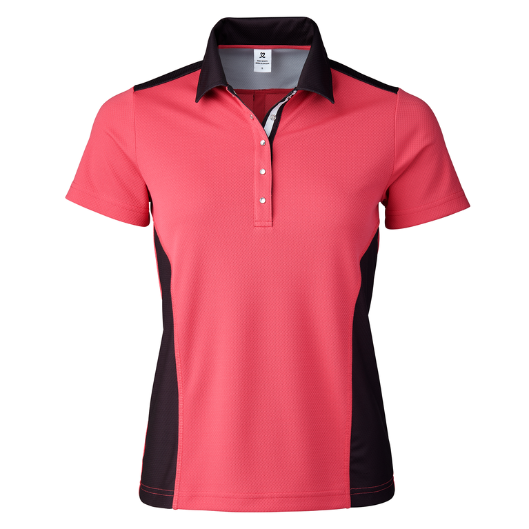 Birdie Collection: Celena Black Polo Shirt