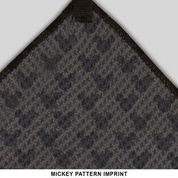 "Mickey Mouse/Disney 15"" x 15"" Grey Microfiber Towel"