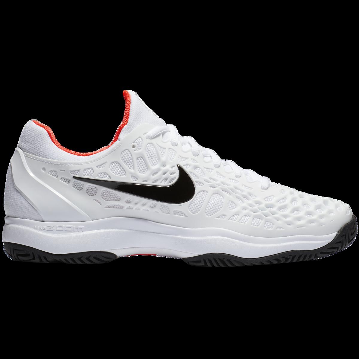 Images. Zoom Cage 3 Men  39 s Tennis Shoe - White Black Red b511c6707
