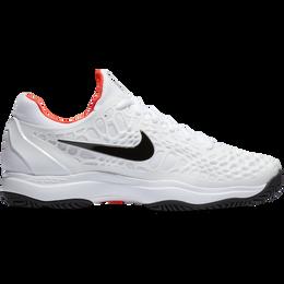 Zoom Cage 3 Men's Tennis Shoe - White/Black/Red