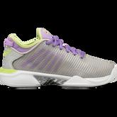 Hypercourt Supreme Women's Tennis Shoe - Grey/Purple