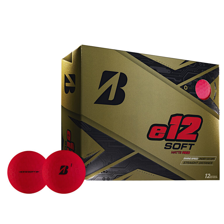 e12 Soft Red Golf Balls