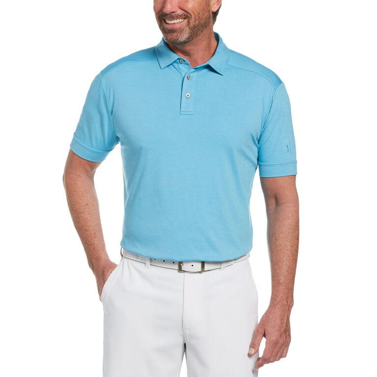 Soft Textured Golf Polo Shirt