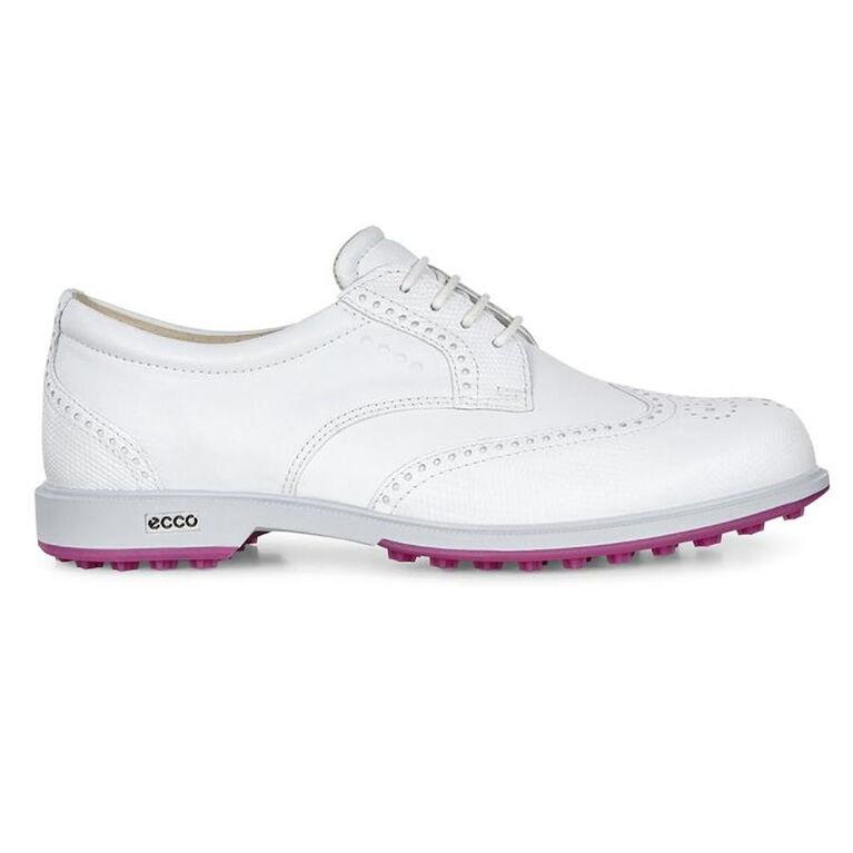 ECCO Tour Hybrid Women's Golf Shoe - White