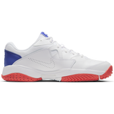 Alternate View 1 of NikeCourt Lite 2 Men's Hard Court Tennis Shoe - White/Royal