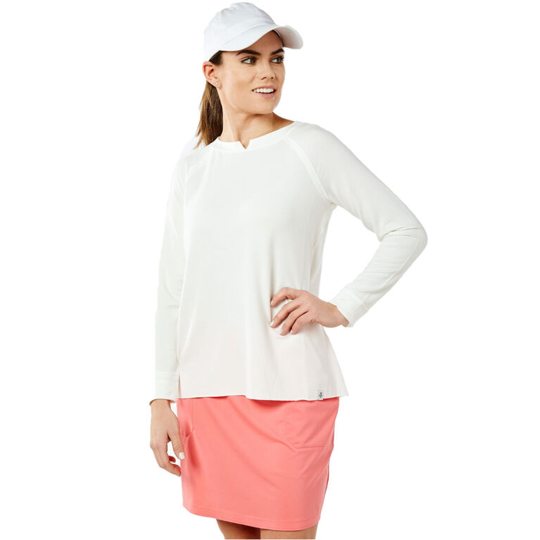 Long Sleeve Oxford Pullover