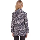 Alternate View 1 of Fiji Collection: Long Sleeve Snake Print Jacket