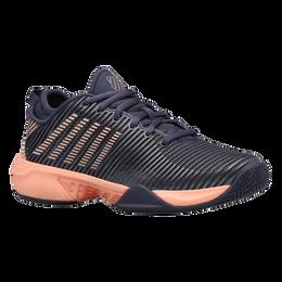 Hypercourt Supreme Women's Tennis Shoe - Grey