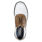 FootJoy DryJoys Women's Golf Shoe - White/Brown