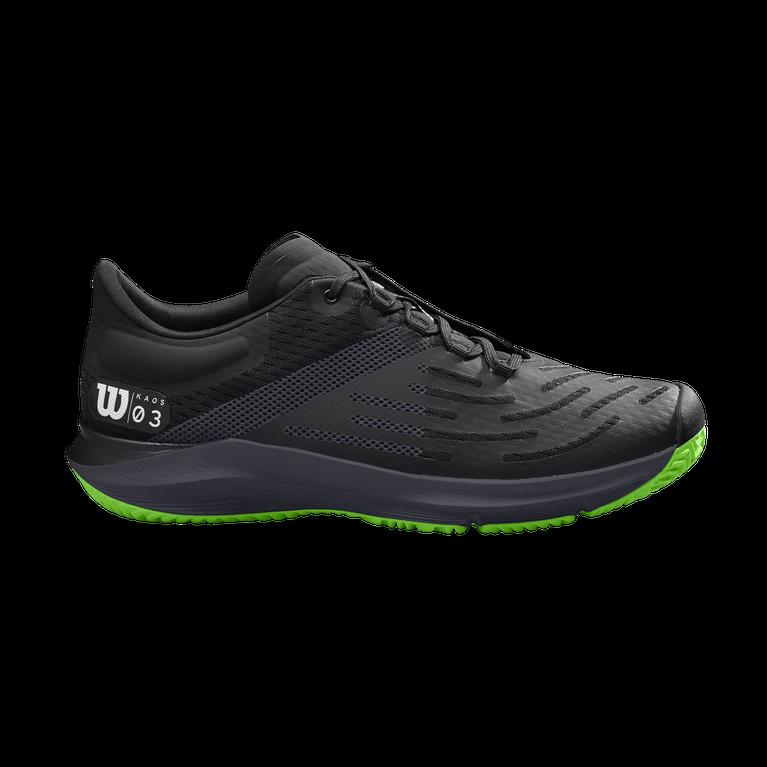 KAOS 3.0 Men's Tennis Shoe - Black/Green