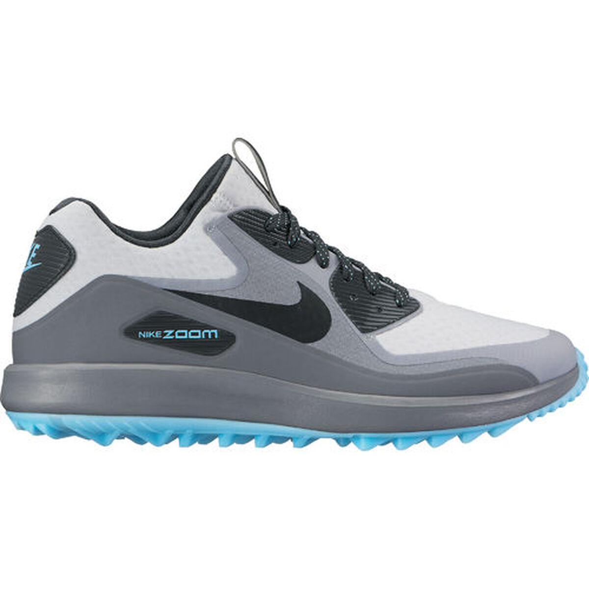 best authentic 0173b cee32 Nike Air Zoom 90 IT Men s Golf Shoe - Grey Silver