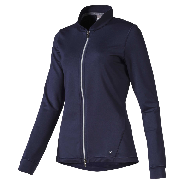 Women's Full Zip Knit Golf Jacket