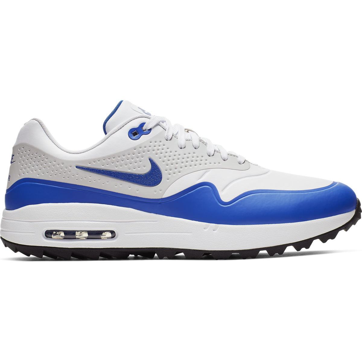 best service 398e2 2d19d Air Max 1 G Men  39 s Golf Shoe - White Blue Zoom Image