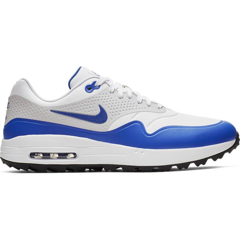 Nike Air Max 1 G Men's Golf Shoe WhiteGrey PGA TOUR  PGA TOUR