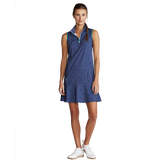 Alternate View 1 of Sleeveless Printed Dress