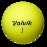 Volvik VIVID Golf Balls - Yellow