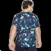 Alternate View 4 of Dri-FIT Victory Print Short Sleeve Tennis Tee Shirt