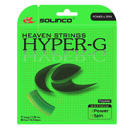 SOLINCO Hyper-G 17 Gauge Tennis String