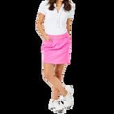 "Alternate View 1 of Sybil Cockatoo Pink Luxetic 17"" Skort"