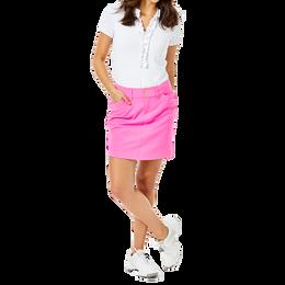 """Sybil Cockatoo Pink Luxetic 17"""" Skort"""