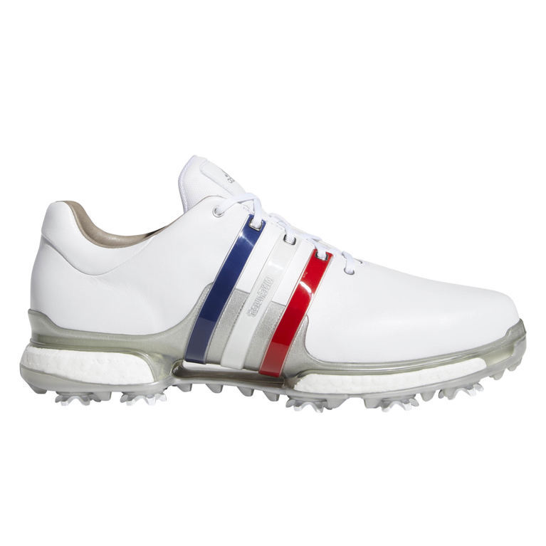 Adidas Tour 360 Boost 2 0 Usa Men S Golf Shoes Red White Blue Pga Tour Superstore