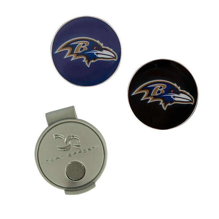 Team Effort Baltimore Ravens Hat Clip & Ball Marker