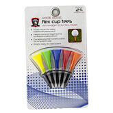 Golf Gifts & Gallery Flex Cup Wide Base Tees in package