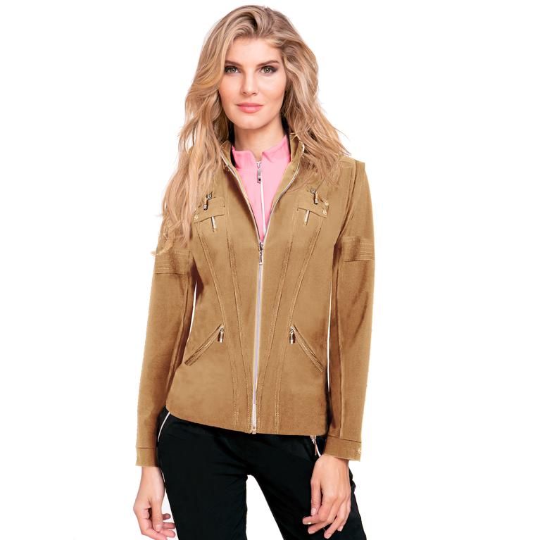 Venus Collection: Zip Off Long Sleeve Airwear Jacket