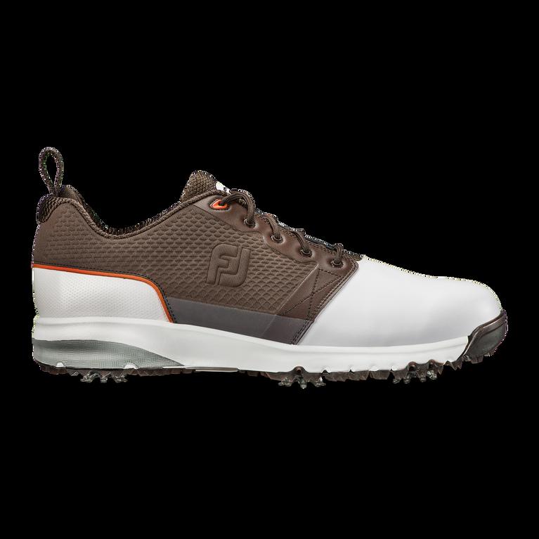 FootJoy Contour FIT Men's Golf Shoe - White/Brown