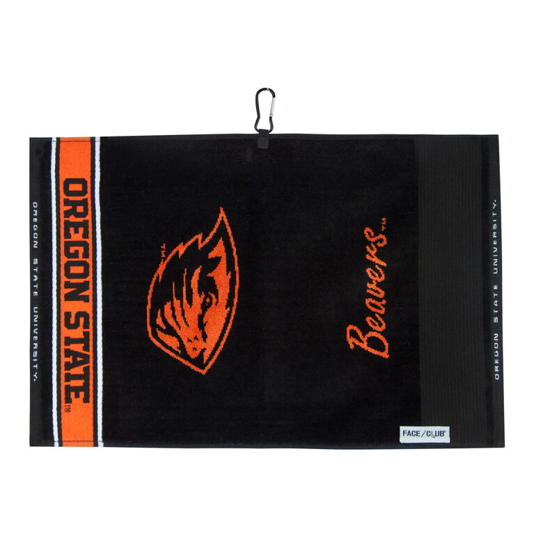 Team Effort Oregon State Jacquard Towel