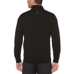 Thermal Merino Wool 1/4 Zip Long Sleeve Golf Sweater