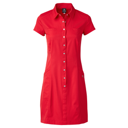 Red Dimension Collection: Short Sleeve Lyric Dress