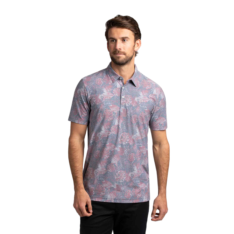 Raft The Pacuare Floral Polo