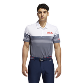 USA Golf Ultimate365 Stripe Polo Shirt