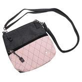Rose Gold Quilt Zip Bag
