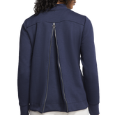 Alternate View 7 of Dri-FIT UV Women's Pleated Back Pull Over Sweatshirt