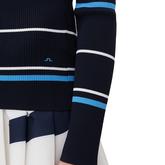 Alternate View 2 of Berthe Long Sleeve Block Stripe Sweater