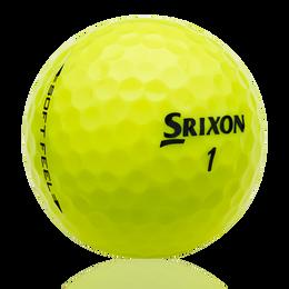 Srixon Soft Feel Tour Yellow