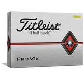 Pro V1x Yellow Golf Balls