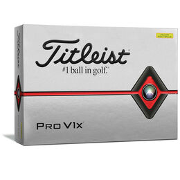 Pro V1x Yellow Golf Balls - Personalized
