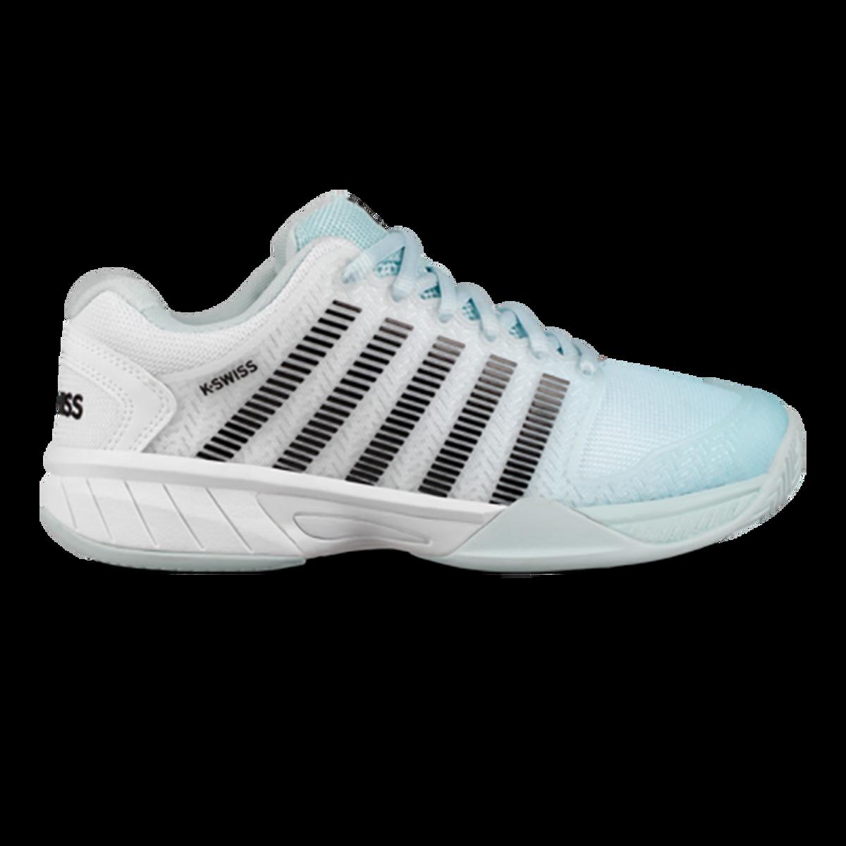 5fd2dd9c2a9a1 Hypercourt Express Junior Tennis Shoe - Light Blue/White