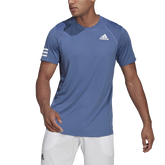 Alternate View 1 of Club 3-Stripe Men's Tennis T-Shirt