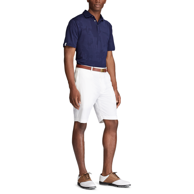 Classic Fit Jacquard Polo