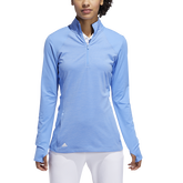 Alternate View 3 of Minted Blues Collection: Half-Zip Solid Pull Over Jacket