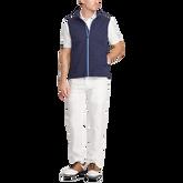 Paneled Interlock Golf Vest