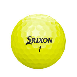 Soft Feel Yellow Golf Balls - Personalized