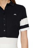 Alternate View 4 of Natasha Short Sleeved Colorblock Polo Shirt
