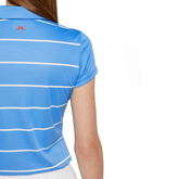 Alternate View 4 of Alysa Short Sleeve Striped Polo