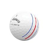Alternate View 1 of ERC Soft Triple Track Golf Balls