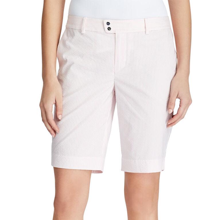 RLX Golf Striped Cotton Blend Short